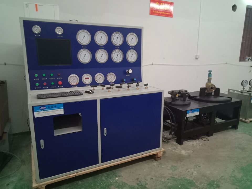 news-Suncenter Safety Valve Test Bench Passed The Acceptance Of Malaysian Customers-Suncenter-img
