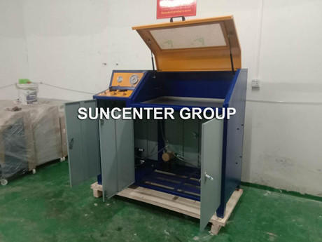 How Does Suncenter Manual Pressure Burst Tester Break Through In The Competition