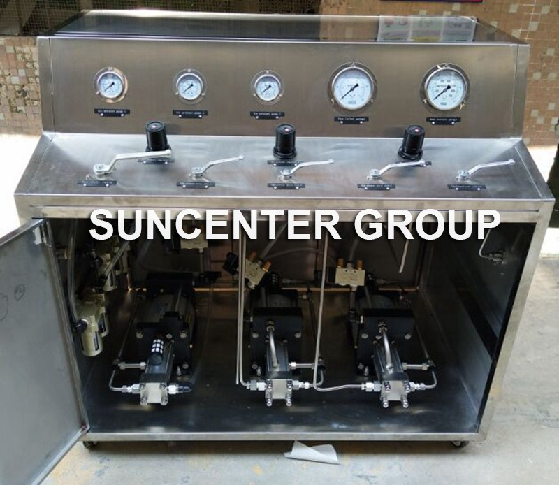 news-Suncenter Three Sets Air Booster Pumps In Parallel-Suncenter-img