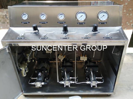 Suncenter Pneumatic Booster System