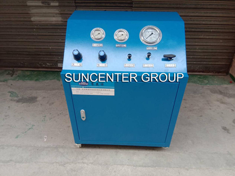 Suncenter Dgv02-2 Parallel Air Booster Equipment Has Arrived