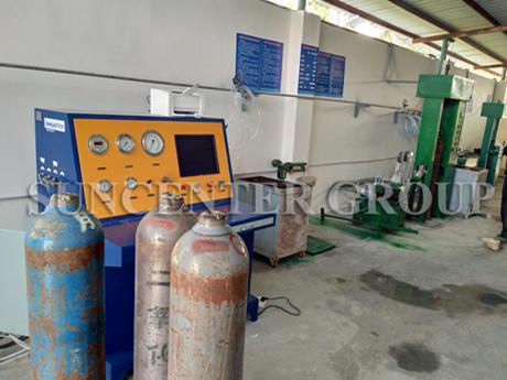 High-Pressure Gas Cylinder And Steel Cylinder Water Pressure Tester