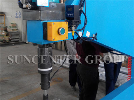 One-Meter Large Throat Deep Bolt And Nut Riveting Machine