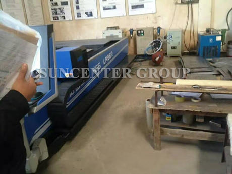 Pneumatic Air Booster System For Laser Cutting Machine