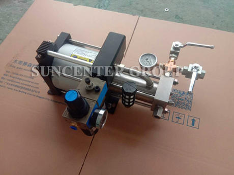 Suncenter DGA10 Portable Carbon Dioxide Booster Pump, Facing The Difficulties With You