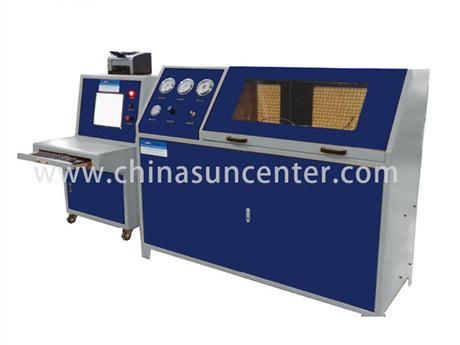 Pressure Blasting Test Device For Accumulator