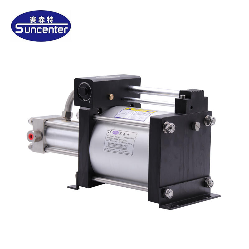 DGA Series gas booster pump with max 800 bar outlet pressure