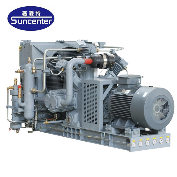 High pressure nitrogen gas compressor