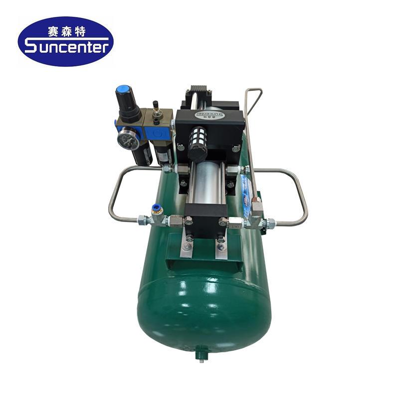 Air pressure amplifier with 40L air tanks