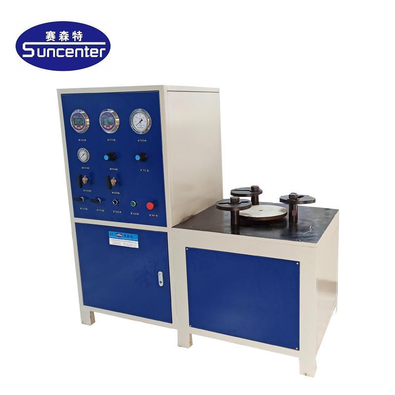 Breather valve test bench