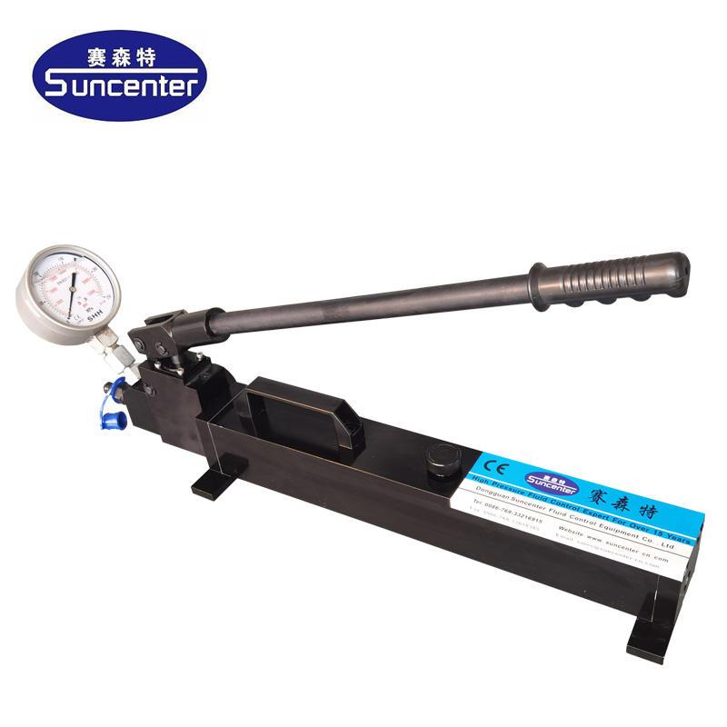 Manual Pressure Test Pump Instructions