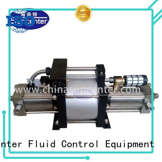 Suncenter pump booster bulk production for safety valve calibration