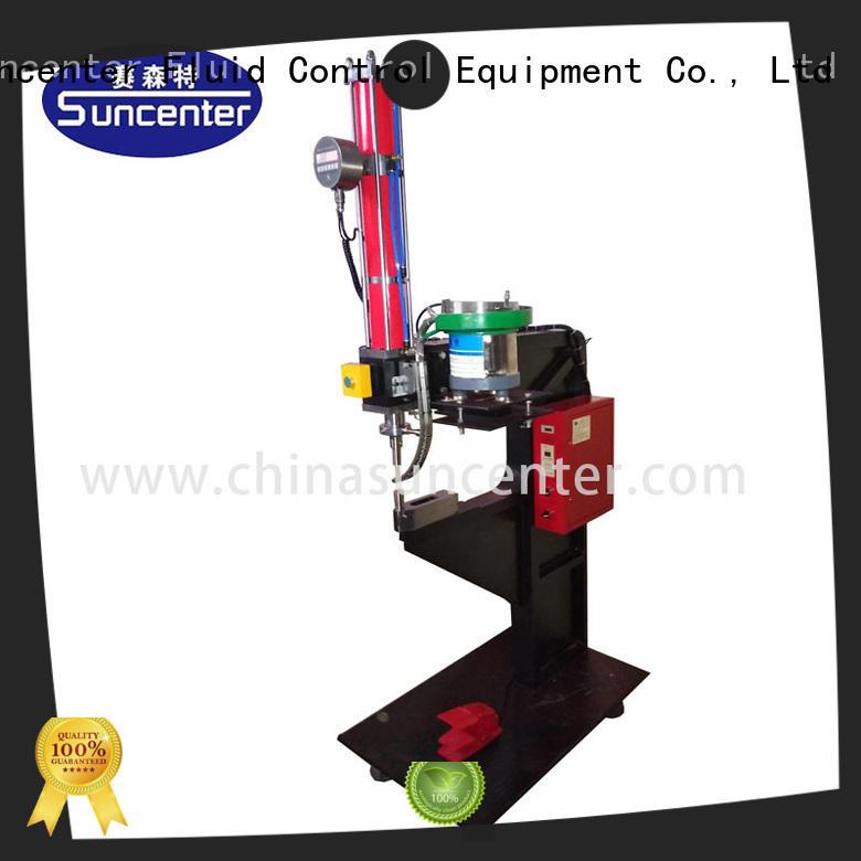 Suncenter power orbital riveting machine free design for welding