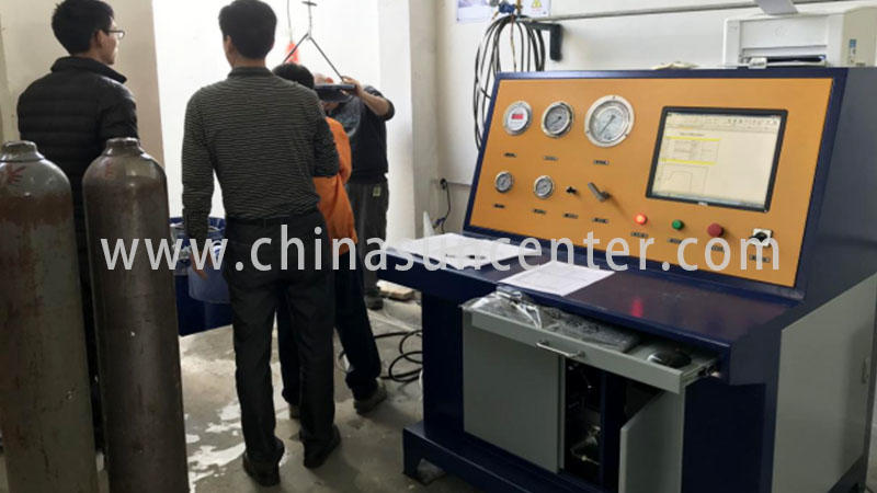 Cylinder hydrostatic pressure test machine-3