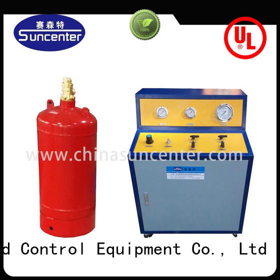 Suncenter ravishing fire extinguisher refill station for fire extinguisher