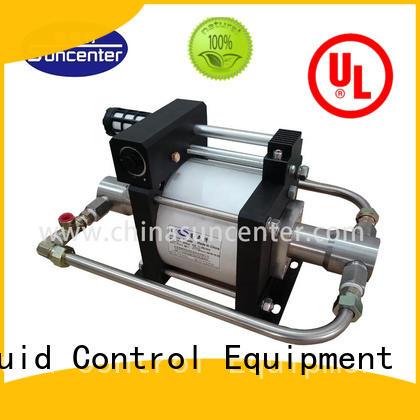 Suncenter portable liquid nitrogen pump supplier for pressurization