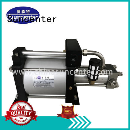 Suncenter max gas booster system for pressurization