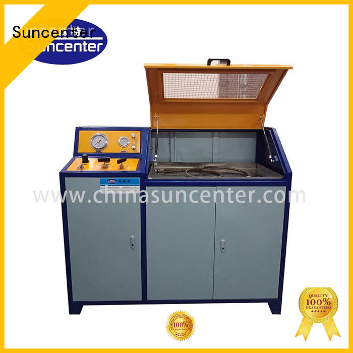 Suncenter automatic water pressure tester application for pressure test