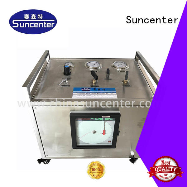 Suncenter bench hydraulic test bench at discount for safety valve calibration