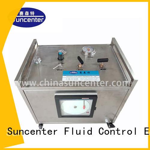 dls recorder hand operated hydraulic pressure test pump pressure pump Suncenter company