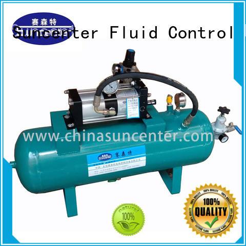 Suncenter pump air booster pump certifications for pressurization