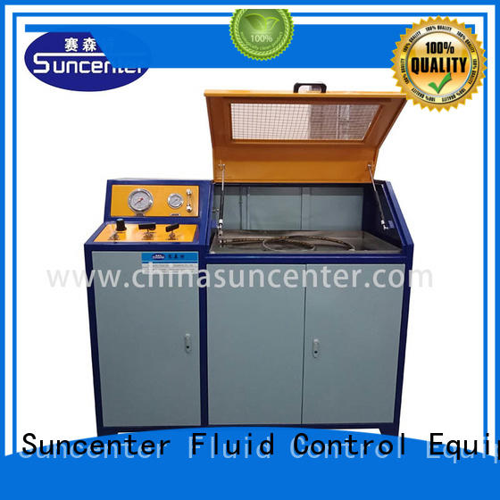 brake water pressure testing machine range for flat pressure strength test Suncenter
