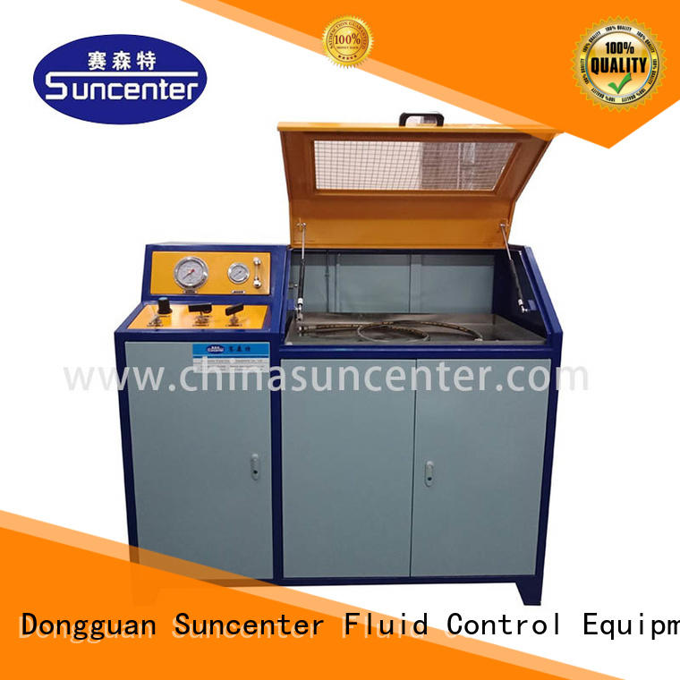 automatic pressure test pump pressure solutions for flat pressure strength test