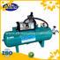 Air pressure booster with 40L air tanks