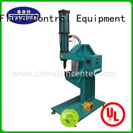 Suncenter advanced technology riveting machine overseas marketing for welding