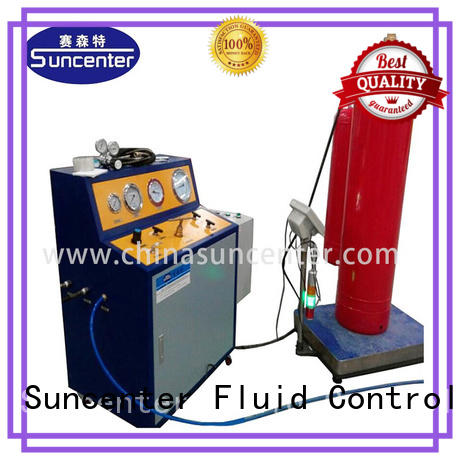Suncenter cylinder automatic filling machine marketing for fire extinguisher