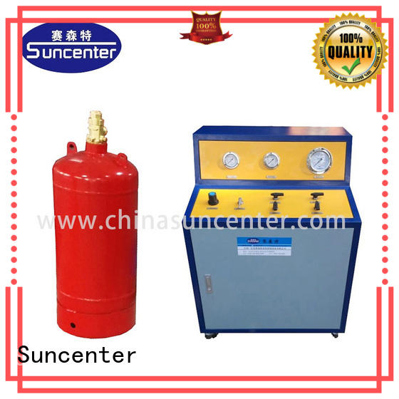 automatic automatic filling machine for fire extinguisher Suncenter