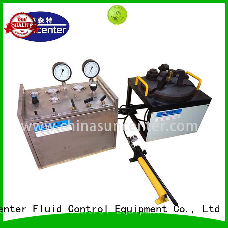 Suncenter model hydro pressure tester at discount for industry