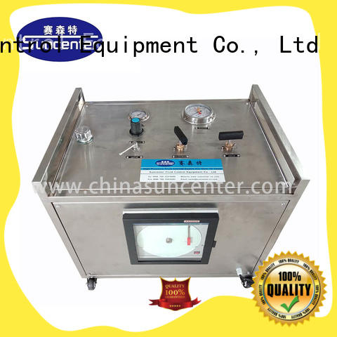 Suncenter professional hydrostatic testing overseas market for mining