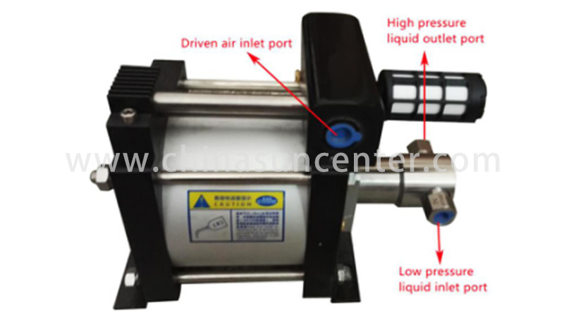 Suncenter air air driven liquid pump for wholesale for metallurgy-4