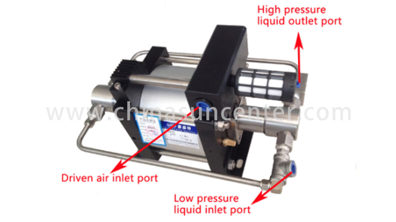 Suncenter-High-quality Air Over Hydraulic Pump | Air Driven Liquid Pump-4