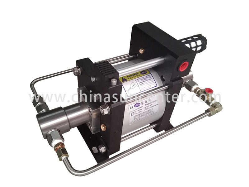 Suncenter long-term used air driven liquid pump overseas market for mining