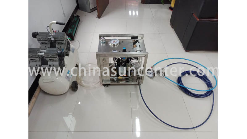 Suncenter long life hydro test pump sensing for metallurgy-5