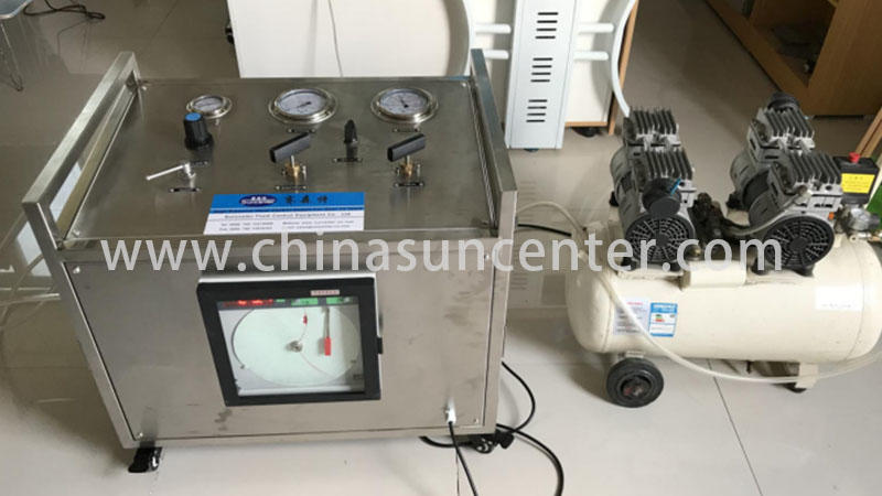 Suncenter test high pressure water pump marketing forshipbuilding