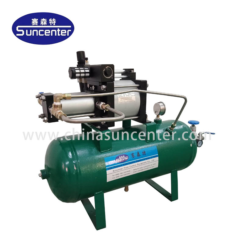 application-gas booster-hydro test pump-booster pumps-Suncenter-img-1
