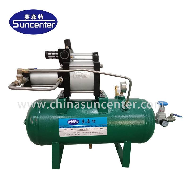 Air booster pump with max 40 bar pressure
