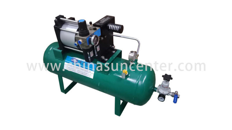 Suncenter easy to use air pressure booster type for safety valve calibration