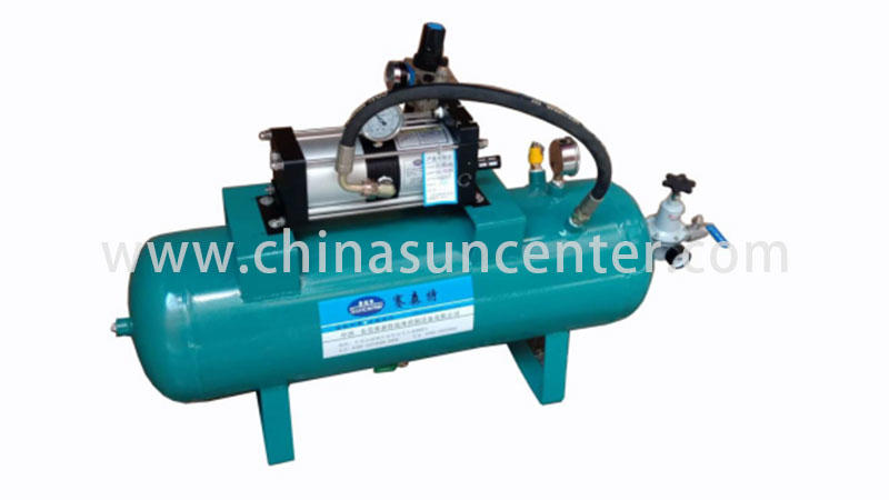 Suncenter max air pressure booster manufacturer for natural gas boosts pressure