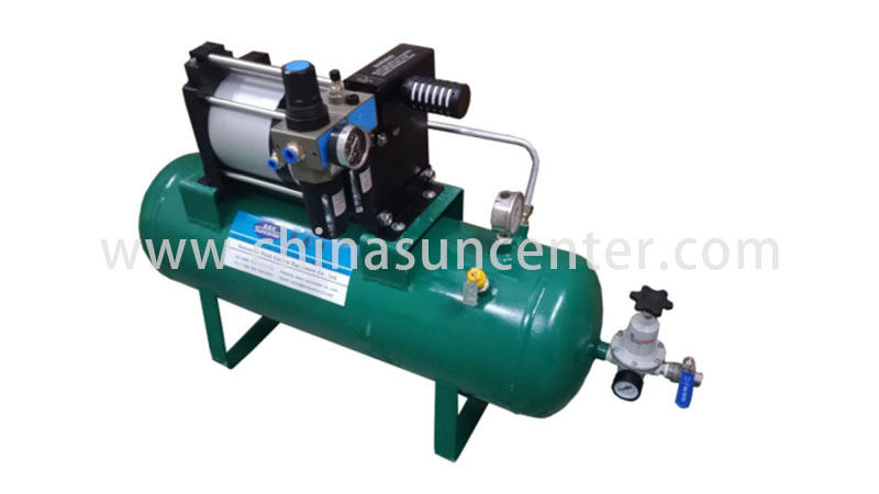 stable booster air compressor max type for natural gas boosts pressure