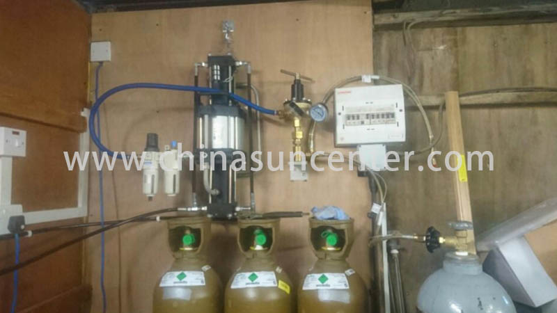 Suncenter series oxygen pumps type for safety valve calibration-11