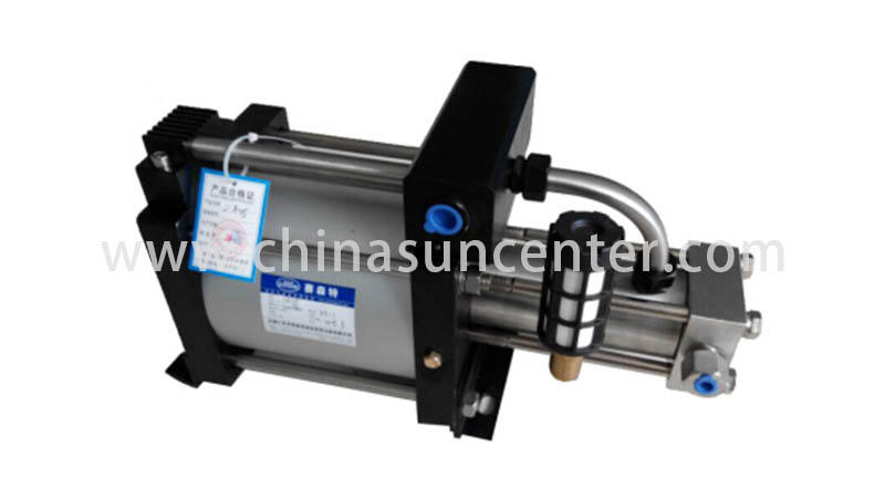 Suncenter nitrogen pump booster marketing for safety valve calibration
