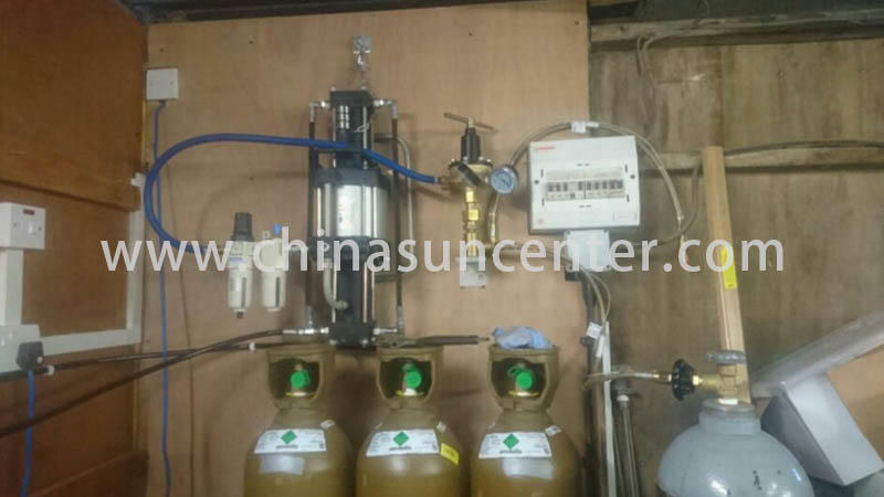 pressure gas booster system gas for pressurization Suncenter