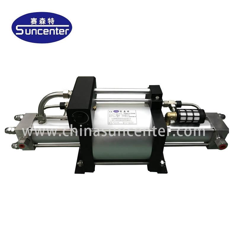 booster oxygen pump dgd Suncenter Brand natural gas booster pump supplier