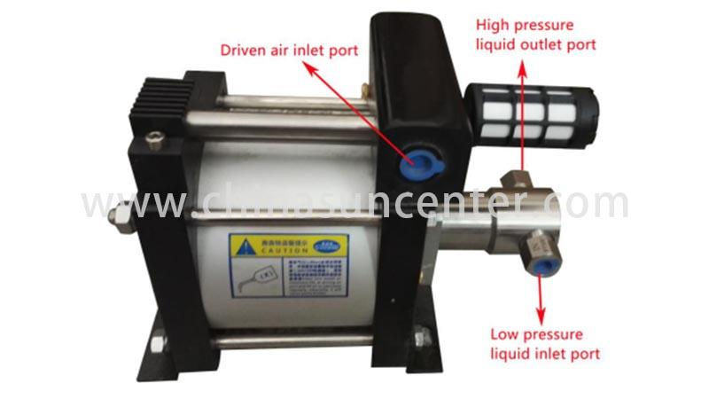 stable co2 pump booster effectively for pressurization