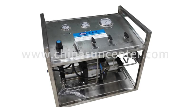 Suncenter high reputation nitrogen air pump from manufacturer for safety valve calibration-4