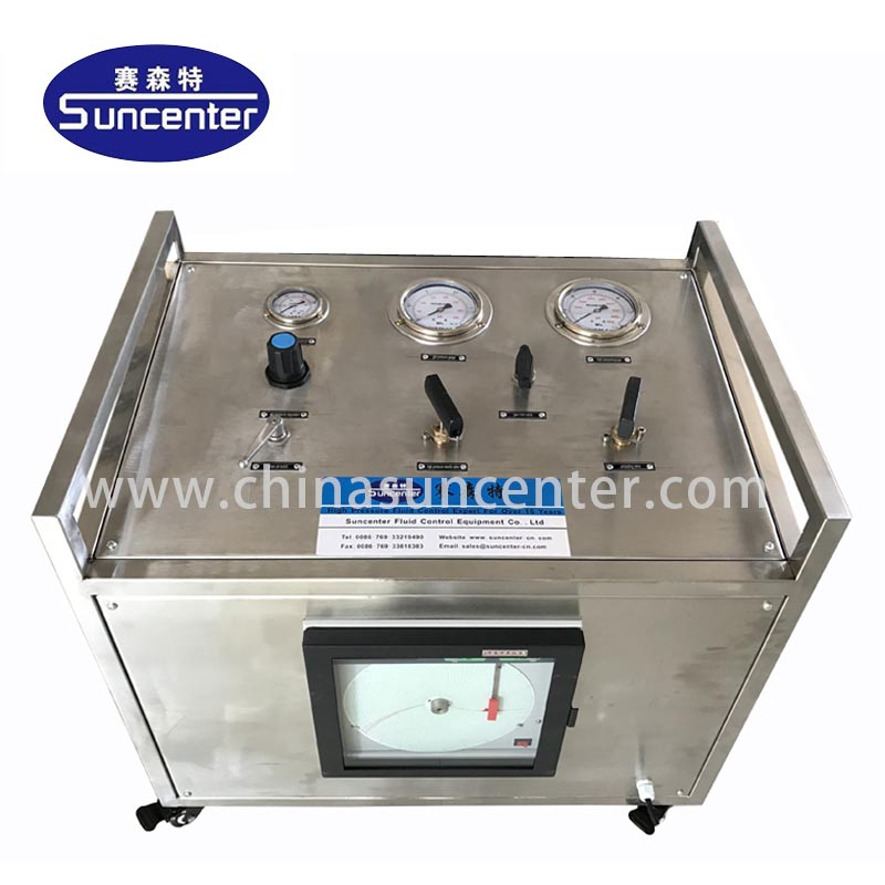 news-Suncenter safe gas booster compressor bulk production for safety valve calibration-Suncenter-im